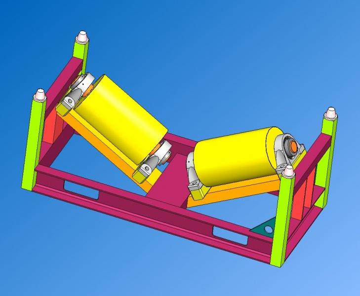 Rouleur R4 - 15 tonnes - Ø600 à Ø1600mm